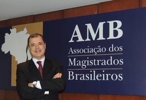 O presidente da AMB, João Ricardo Costa Foto: Renata Brandão 22/04/2014 / Divulgação AMB