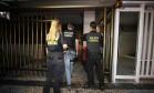 Policiais cumprem mandato de prisão e de busca e apreensão na casa do ex-governador Sérgio Cabral Foto: Pablo Jacob / Agência O Globo