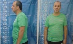 Cabral teve o cabelo cortado na penitenciária de Bangu 8 Foto: Reprodução