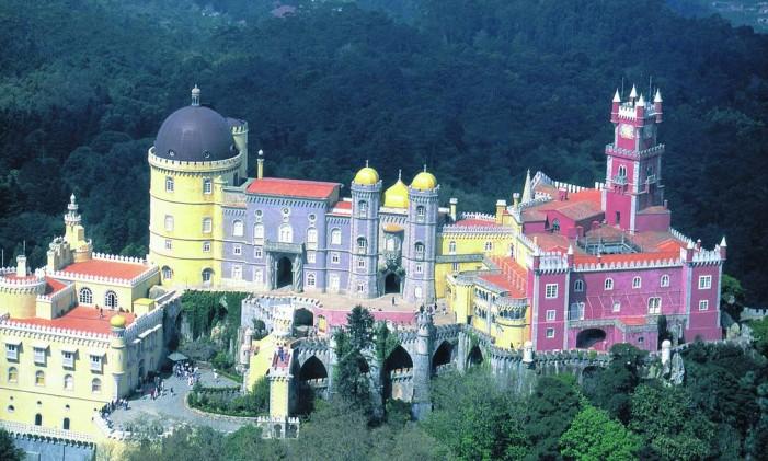 Palácio da Pena, em Sintra, Portugal Foto: Divulgação
