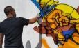 Obras de grafiteiros niteroienses e franceses estarão lado a lado na mostra coletiva