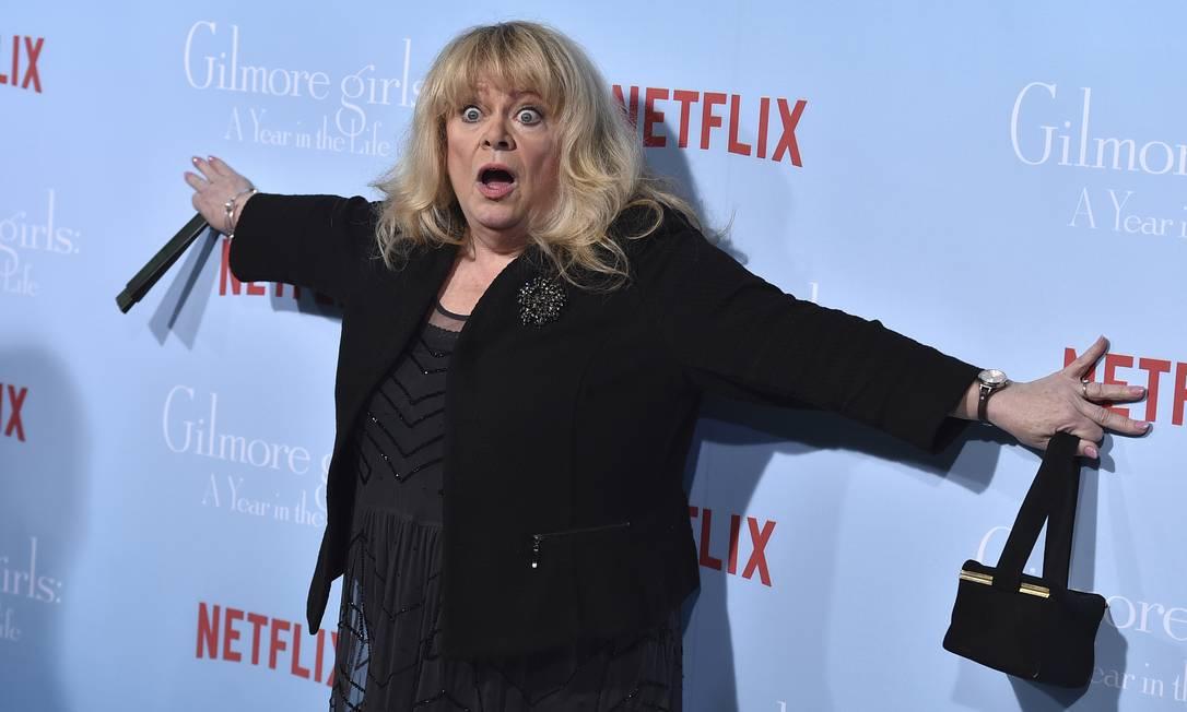 A bem-humorada Sally Struthers, intérprete de Babette Jordan Strauss / Jordan Strauss/Invision/AP