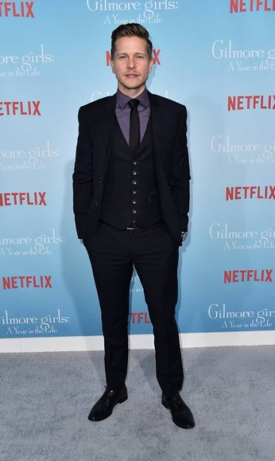 O ator Matt Czuchry, que vive Logan Alberto E. Rodriguez / AFP