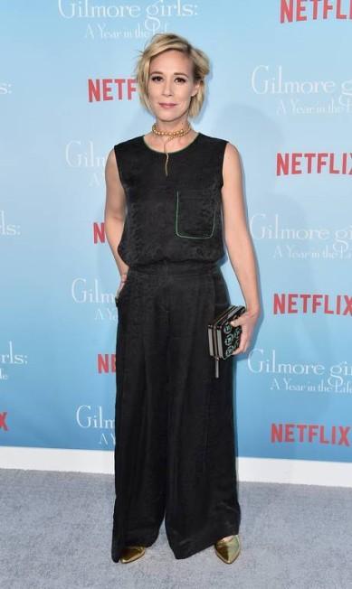 A atriz Liza Weil Alberto E. Rodriguez / AFP