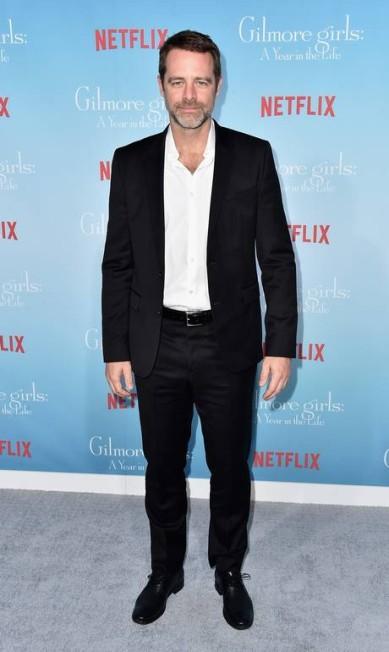 O ator David Sutcliffe, que vive o pai de Rory, Christopher Alberto E. Rodriguez / AFP