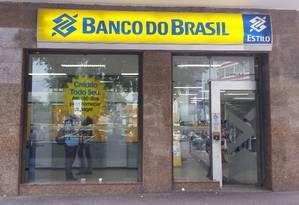 Agência do Banco do Brasil Foto: Priscila Belmonte / Priscila Belmonte/9-3-2015