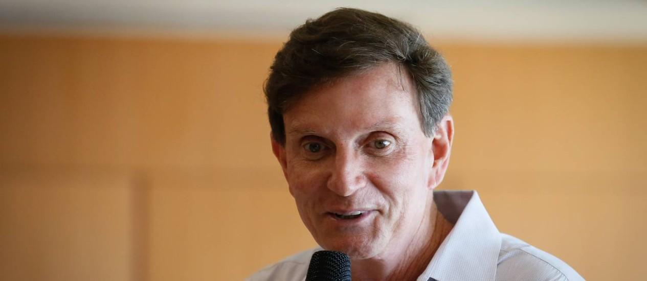 O prefeito do Rio, Marcello Crivella Foto: Pablo Jacob - 19/11/2016 / Agência O Globo