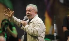 O ex-presidente Luiz Inácio Lula da Silva Foto: João Godinho