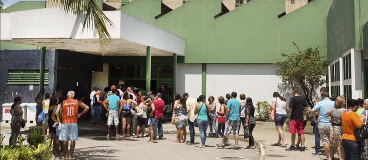Contrato da OS que vai administrar unidade será de R$ 16,5 milhões por mês Foto: Agência O Globo