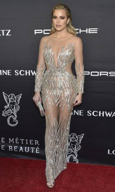 Mais do look de Khloe Kardashian Evan Agostini / Evan Agostini/Invision/AP