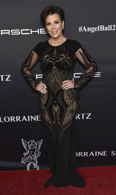 A matriarca das Kardashian, Kris Jenner, também compareceu Evan Agostini / Evan Agostini/Invision/AP