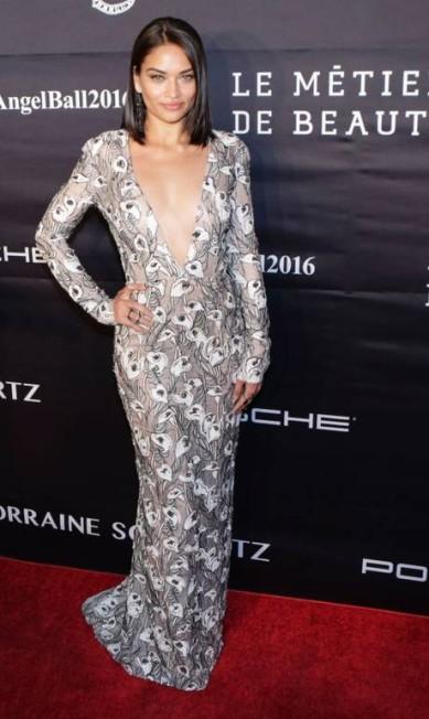 A modelo Shanina Shaik KENA BETANCUR / AFP
