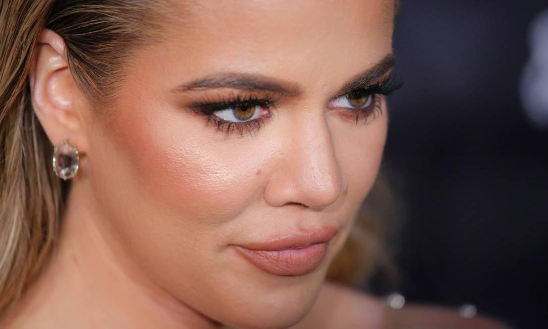 A beleza de Khloé Kardashian KENA BETANCUR / AFP