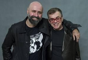 O diretor Mauro Mendonça Filho e o autor Walcyr Carrasco Foto: TV Globo/Estevam Avellar