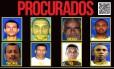 Suspeitos da Cidade de Deus procurados pela polícia