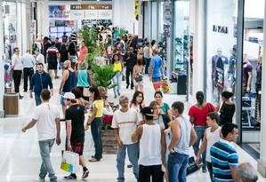Lojas do Shopping Nova América Foto: Paulo Belote/Divulgação