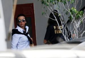 Adriana Ancelmo, mulher do ex-governador do Rio Sérgio Cabral Foto: Ricardo Moraes / Reuters / 17-11-2016