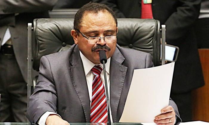 O ex-presidente interino da Câmara, Waldir Maranhão (PP-MA) Foto: Jorge William / Agência O Globo / 5-7-2016