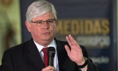 O procurador-Geral da República, Rodrigo Janot Foto: Jorge William 24/11/2016 / Agência O Globo