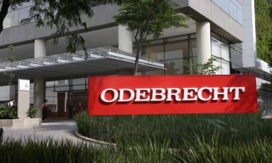 A sede da Odebrecht em São Paulo Foto: Marcos Alves / Agência O Globo / 22-3-2016