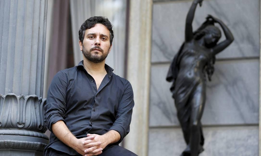 O português Miguel Cardina, investigador do Centro de Estudos Sociais e vice-presidente do Conselho Científico Foto: Domingos Peixoto / Agência o Globo