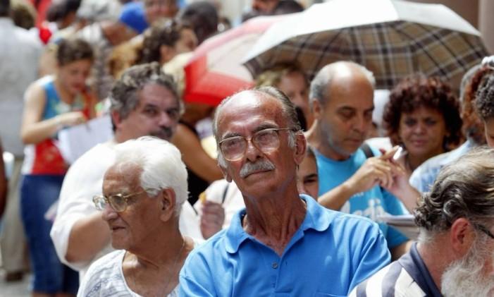 Atualmente, há 55.556 servidores aposentados na folha de pagamento do Executivo Foto: Márcia Foletto / Márcia Foletto