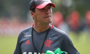 O técnico Zé Ricardo, do Flamengo Foto: Gilvan de Souza/ Flamengo