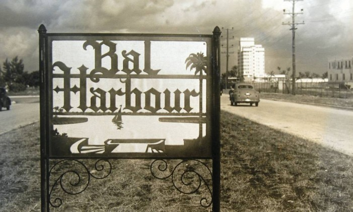 Foto antiga de Bal Harbour Foto: Divulgação