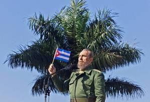 Fidel morreu na capital de Cuba, Havana Foto: ADALBERTO ROQUE / AFP