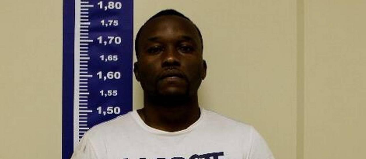 Gilson da Silva Junior, o Gilsão da Glock, é um dos 14 presos na Cidade de Deus na última quarta-feira Foto: Divulgação/Polícia Civil