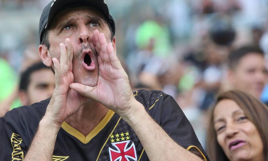 Vaias para o Vasco no Maracanã: no primeiro tempo, derrota por 1 a 0 para o Ceará Guilherme Pinto / Agência O Globo