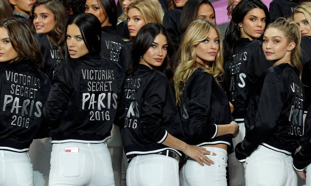 As musas da Victoria's Secret BENOIT TESSIER / REUTERS