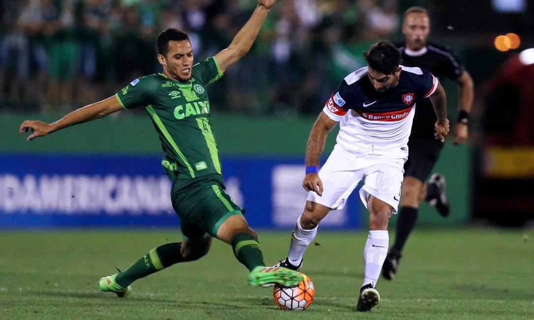 Em 23 novembro no jogo contra o San lorenzo em Chapecó PAULO WHITAKER / REUTERS