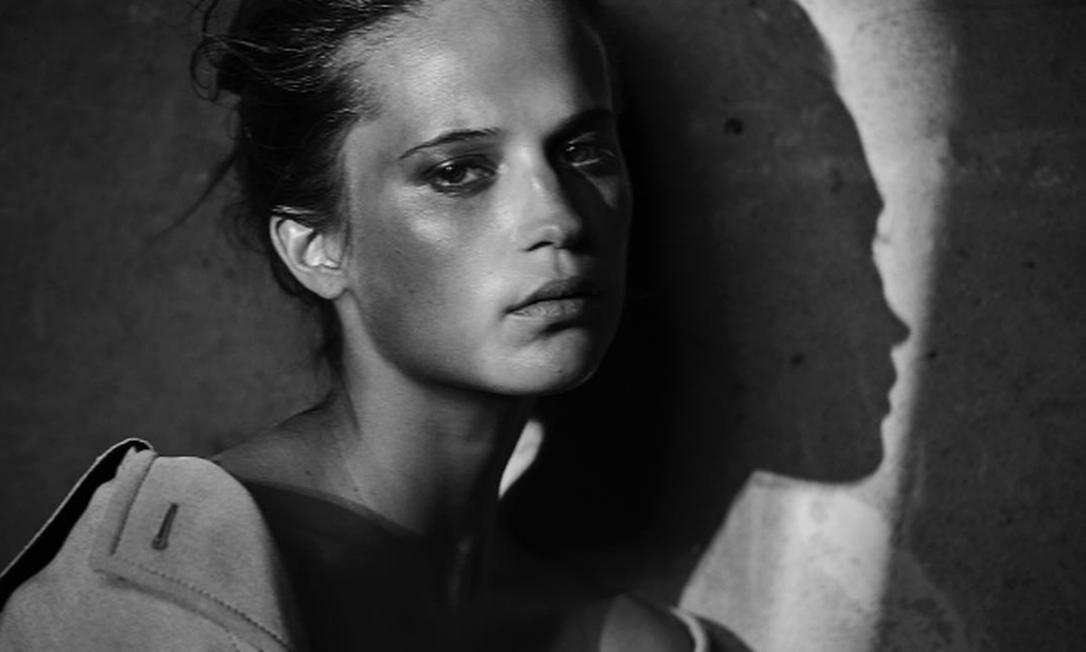 Alicia Vikander Instagram / Peter Lindbergh