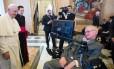 O Papa Francisco se encontrou com o físico ateu Stephen Hawking