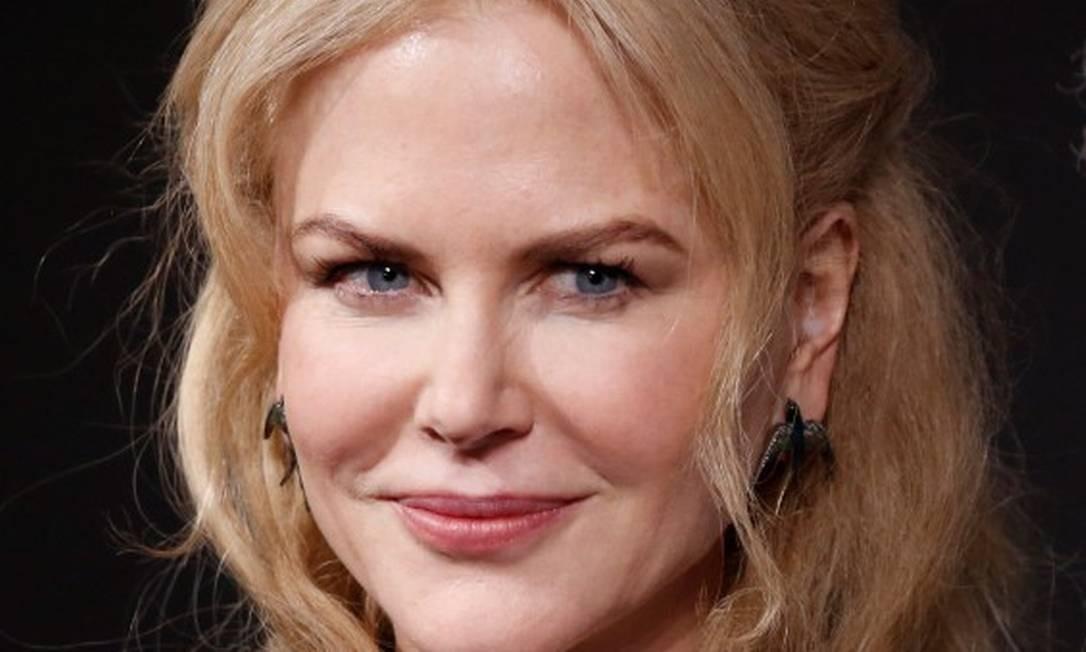 """""""Estamos abandonando esse vício de retoques. Meu marido diz que adora quando estou mais ao natural. Diz que fico mais bonita"""", disse Nicole Kidman na coletiva de lançamento Foto: CHARLES PLATIAU / REUTERS"""