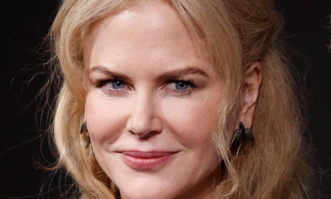 """""""Estamos abandonando esse vício de retoques. Meu marido diz que adora quando estou mais ao natural. Diz que fico mais bonita"""", disse Nicole Kidman na coletiva de lançamento CHARLES PLATIAU / REUTERS"""