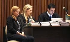 Elize Matsunaga no Fórum Criminal da Barra Funda, em São Paulo Foto: Edilson Dantas 28/11/2016 / Agência O Globo