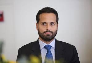 O ex-ministro da Cultura, Marcelo Calero Foto: Marcos Alves / Agência O Globo