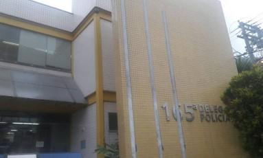 A fachada da 165ª DP: B.O. pode ser feito pesssoalmente em qualquer delegacia ou pela internet Foto: Divulgação / Polícia Civil