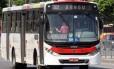 Um dos ônibus que circula na cidade do Rio