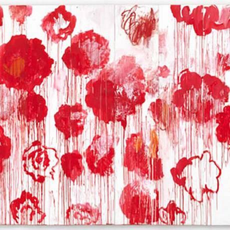 """""""Blooming"""" (2001-2008), uma das obras na retrospectiva que abre em Paris nesta quarta-feira Foto: Divulgação"""
