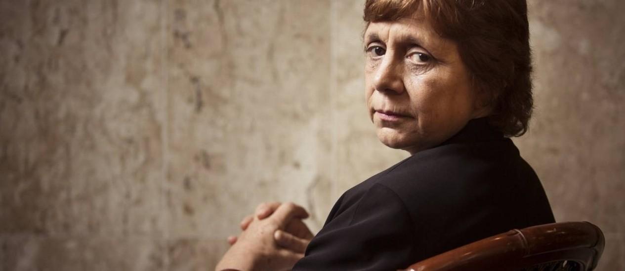 A advogada e professora Patrícia Laurenzo acredita que, para conter a violência contra a mulher, é necessário mudar a ideologia da sociedade Foto: Agência O Globo / Leo Martins
