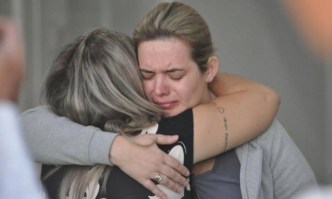 Muita tristeza na Arena Condá pela morte dos atletas da Chapecoense que disputariam a final da Copa Sul-Americana Luiz Barp
