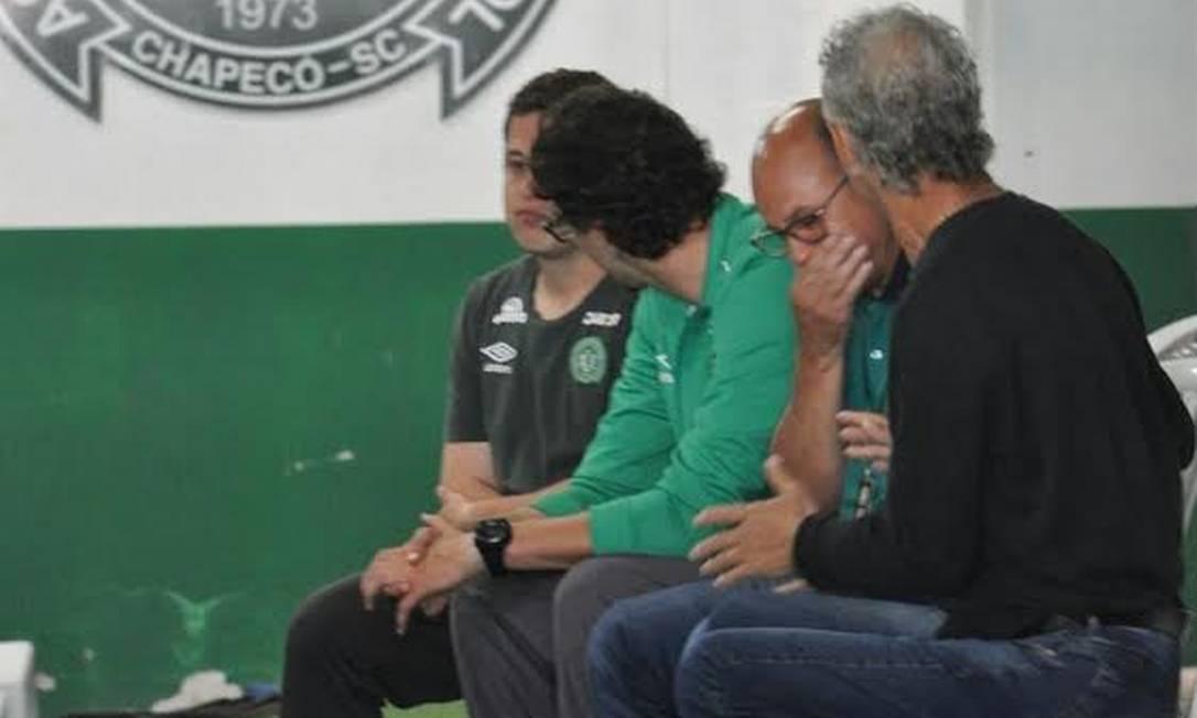 Muita comoção na Arena Condá após a tragédia na Colômbia Luiz Barp