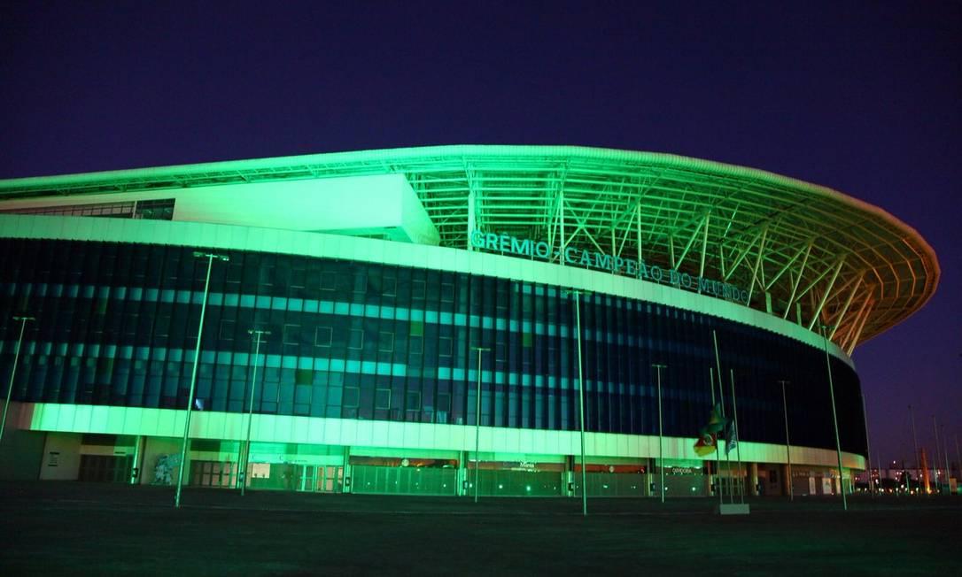 Arena do Grêmio, em Porto Alegre Reprodução / Twitter