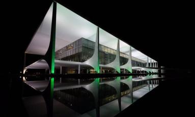Palácio do Planalto, em Brasília Foto: Reprodução / Twitter