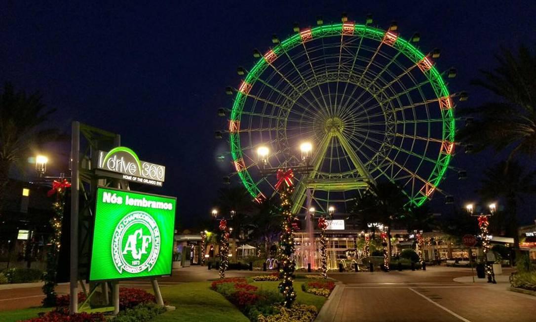 Orlando Eye, na Flórida Reprodução / Twitter
