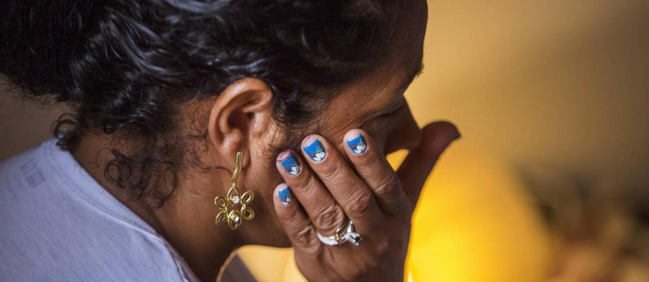 Therezinha Maria de Jesus, mãe de Eduardo: 'Todos nós ficamos desolados' Foto: Antonio Scorza em 04/11/2015 / O Globo