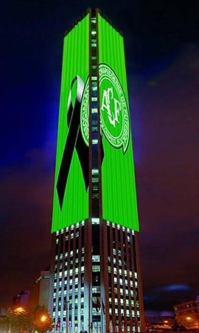 Torre colpatria, em Bogotá Reprodução / Twitter